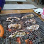 糸島岐志漁港の牡蠣小屋に行ってきました