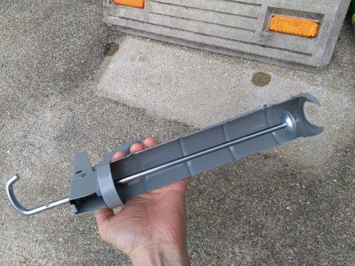 コンクリート固定剤専用道具