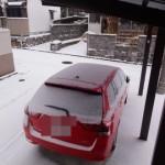 福岡も雪が積もりました