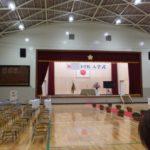 息子の入学式に行ってきました