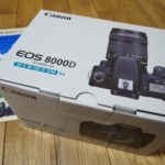 EOS 8000D EF-S18-135 IS STM レンズキットを買いました