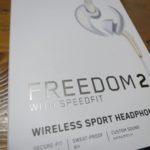 FREEDOM2というワイヤレスイヤホン